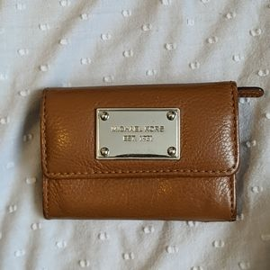 Michael Kors Coin Purse Small Wallet Keychain